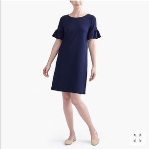 J.Crew Ruffle Sleeve Dress